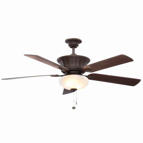 home depot 52 inch ceiling fans hton bay edenwilde 52 in oil rubbed bronze ceiling fan
