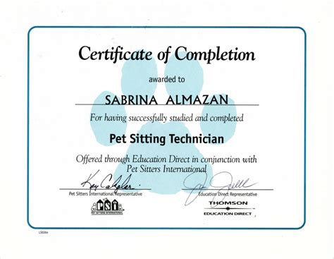 awards certifications