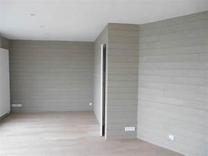 peindre du lambris bois en blanc 5 voir plus decoration With peindre du lambris bois en blanc