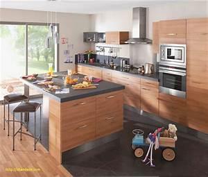 Ilot De Cuisine : cuisine avec ilot et table avec modele de cuisine avec ilot central l gant cuisine ilot central ~ Teatrodelosmanantiales.com Idées de Décoration