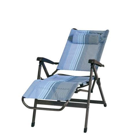 fauteuil de cing trigano fauteuil relax trigano bleu lavande en aluminium