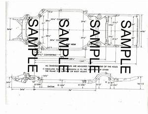 1971 Dodge Challenger R  T 71 Frame Guide Diagram Chart