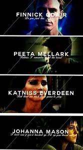 Katniss Peeta Johanna Finnick - image #3227411 by marky on ...