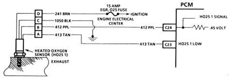 repair guides electronic engine controls oxygen sensor autozone