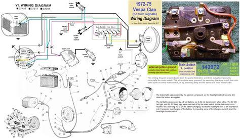 vespa electrical 171 myrons mopeds
