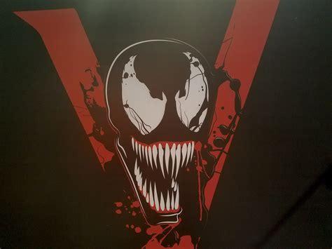 venom  art  display cosmic book news