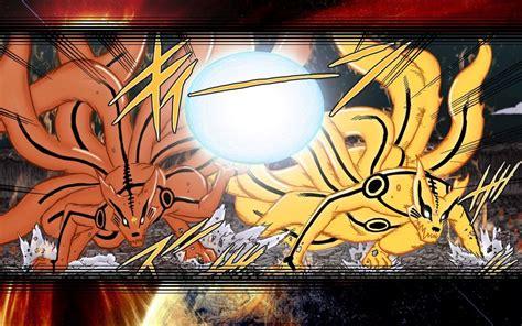 Minato Naruto Yin Kurama Yang Kurama Wallpaper 3 By