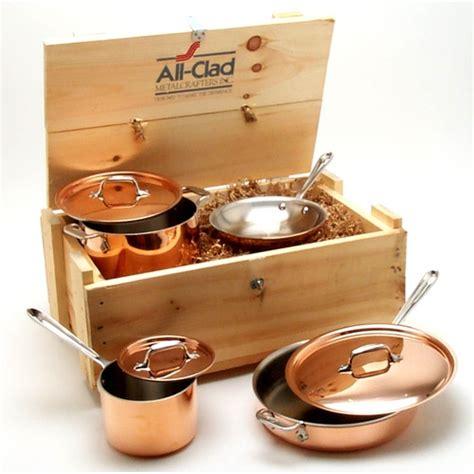 copper cookware chef clad cop pans market using pots