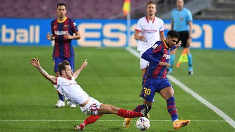 Sevilla vs Barcelona   Horario, canal de TV en España ...
