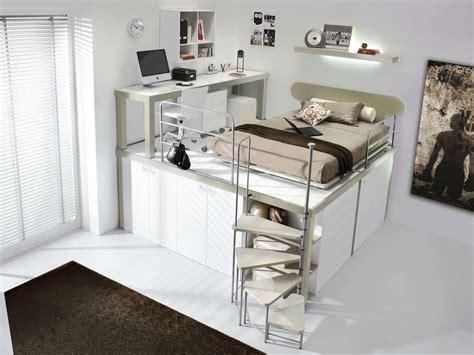 chambre ado lit mezzanine chambre avec mezzanine
