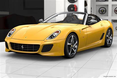 Black And Yellow Ferrari 31 Background