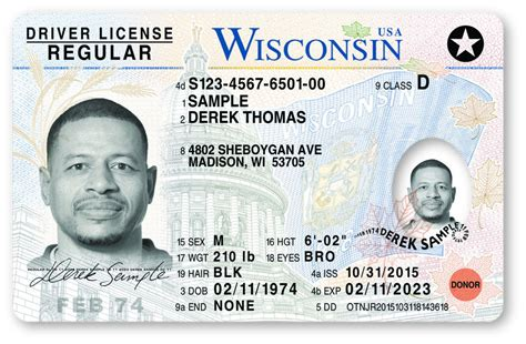 New Wisconsin Driver License, Id Cards 'most Secure In