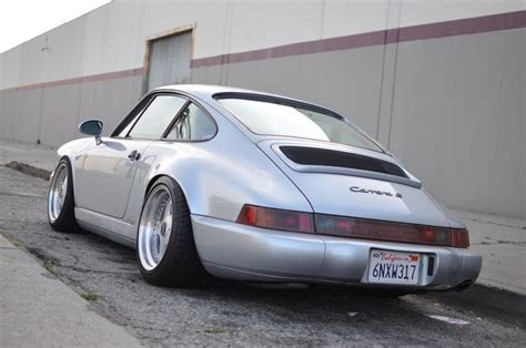 stanced porsche 964 porsche 964 oz futura automotive pinterest porsche