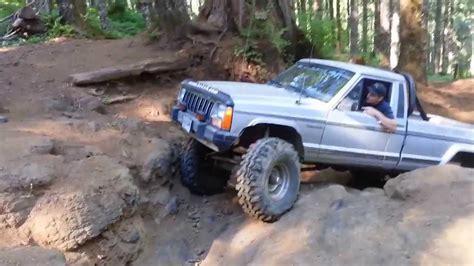 jeep comanche mj   waterfall  tillamook oregon