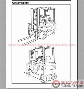 Auto Repair Manuals  Toyota Forklift  Industrial Equipment