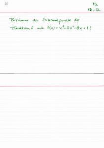 Quantil Berechnen Beispiel : extremalpunkte berechnen beispiel lernwerk tv ~ Themetempest.com Abrechnung