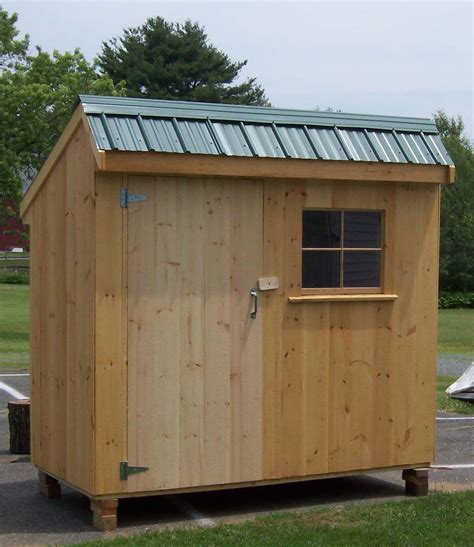 4x8 Wood Storage Shed by 4 X 8 Salt Box Shed Brimfield Shed