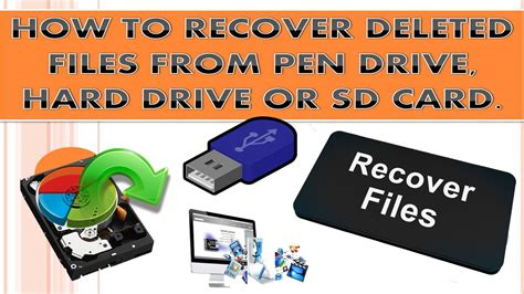 How To Recover Deleted Files From Usb, Sd Card Or From