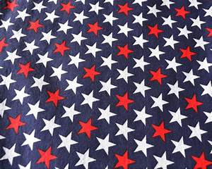 Red White And Blue Stars Background - ma