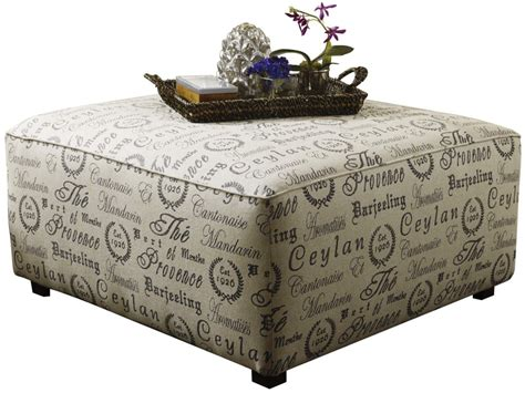 fabric ottoman coffee table fabric covered ottomans large ottoman with custum fabric