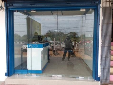 clear entrance glass door sizedimension ft width