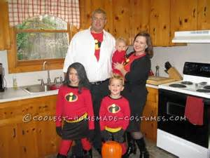 Incredibles Family Halloween Costume Ideas