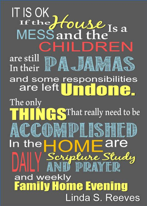 family prayer quotes lds