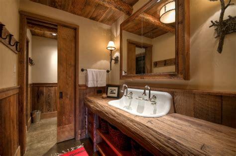 17+ Rustic Bathroom Vanity Designs, Ideas  Design Trends