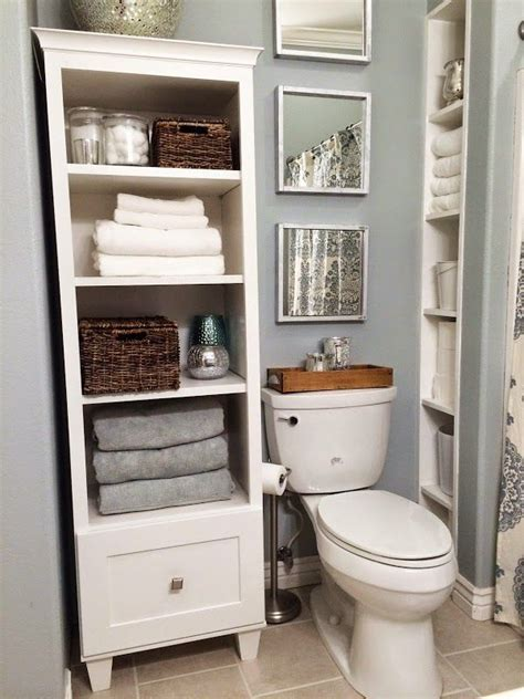 Bathroom Linen Shelf by 43 And Simple Bathroom Storage Ideas In The Next