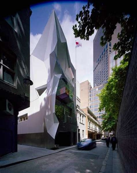 geometric glacier buildings monaco house