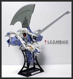 Five Star Stories - LED Mirage Bust Free Mecha Papercraft ...