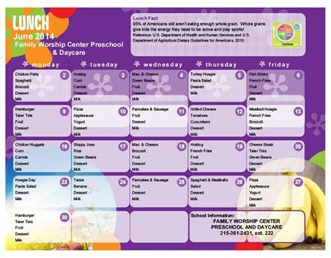 daycare lunch menu preschool lunch menu lansdale day 392 | 8dd3fd0728caf3555b9956d81eeaef22