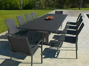 Table De Jardin Extensible Aluminium : koton table collection koton by les jardins ~ Melissatoandfro.com Idées de Décoration