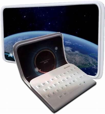 Kyocera Futuristic Phone Folding Smartphone Screen Smartphones