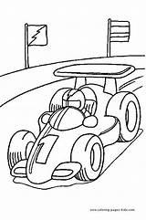 Race Coloring Driver Driving Getcolorings Printable Col sketch template