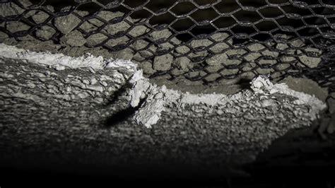 asbestos textured surfacing ceiling layer