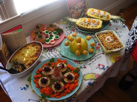 cuisine s 60 jenn ski it 39 s bright it 39 s colorful it 39 s 60 39 s food