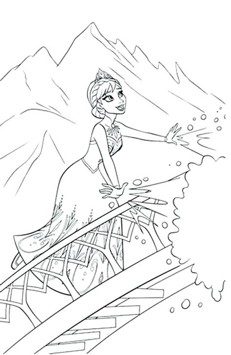 frozen coloring pages elsa ice castle  getcoloringscom  printable colorings pages