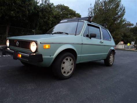 old volkswagen rabbit drives great 1979 volkswagen rabbit diesel