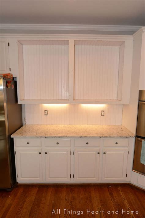 Easy Backsplash Ideas For Kitchen - quot built in quot cupboard w a microwave cubby hometalk