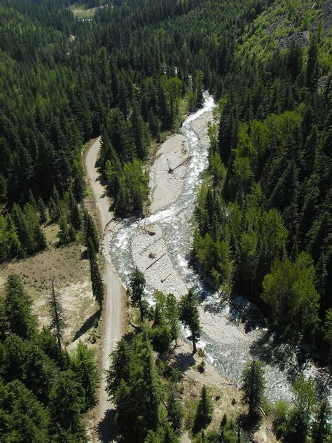 lightning creek road survey road design construction