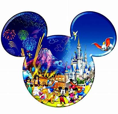 Mickey Disney Heads Head Mouse Characters Personajes