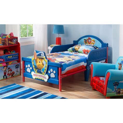bed ideas for cama camita infantil 3d para niño paw patrol patrulla