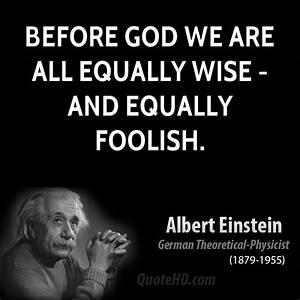 Albert Einstein... Wise Science Quotes