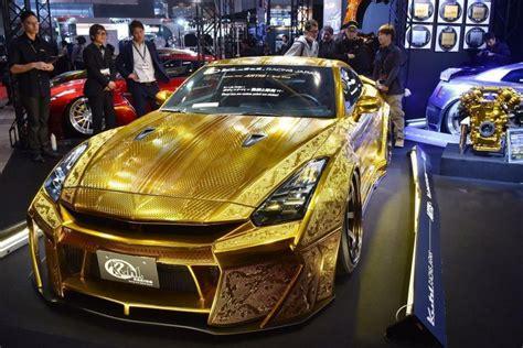 first aston martin 1 million gold plated car unveiled in dubai
