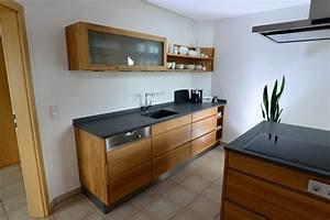 Arbeitsplatte Küche Eiche : holzk che in eiche mit granit arbeitsplatte und ~ A.2002-acura-tl-radio.info Haus und Dekorationen