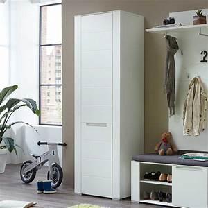 Garderobenschrank 1 M Breit : garderobenschrank nikolan in wei 65 cm breit ~ Bigdaddyawards.com Haus und Dekorationen