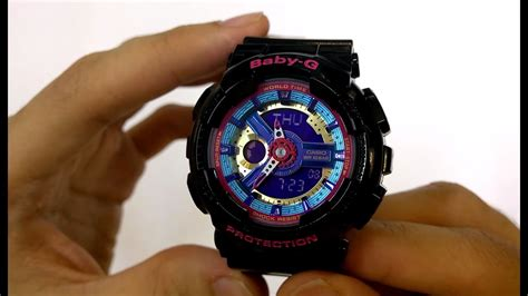 Casio Baby-g Watch Ba-112-1a Quick Unboxing