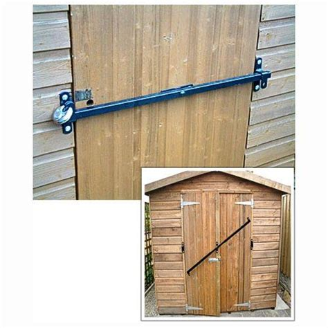 locks for shed doors garden shed security lock fits to 1200 to 1800mm wide door