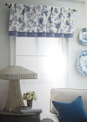 White And Blue Window Valances by 44 Best Images About To Toile On Blue And
